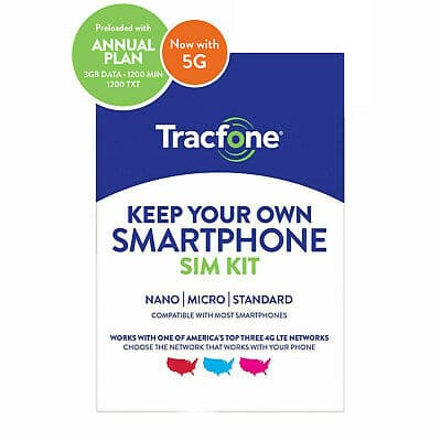 Tracfone Prepaid Wireless Smartphone SIM+Plan-1200 Min,1200 Txt, 3GB Data  | eBay $29.99