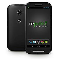 Republic Wireless Deal: Motorola Google Moto E Smartphone - $99 Republic Wireless - No contract - As low as $5 per month - Coming in October
