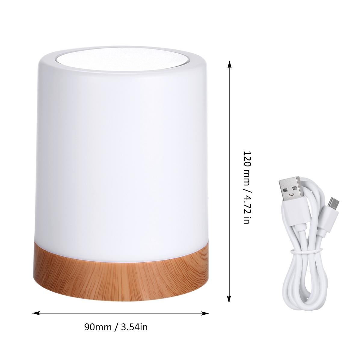 Walmart:Touching Control Bedside Light $17.99+FS
