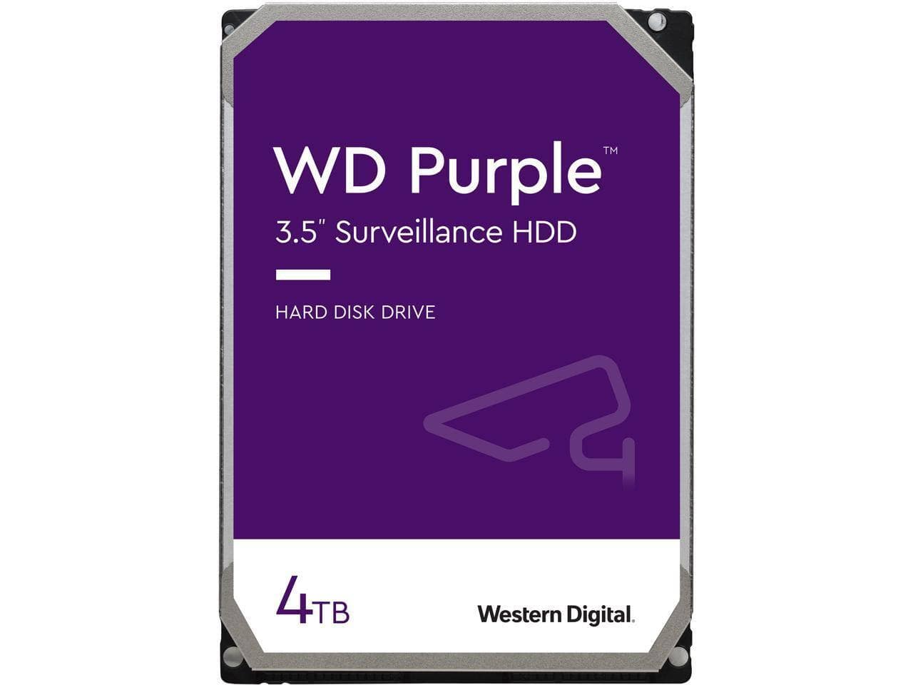 """Western Digital Purple 4 TB 3.5"""" 5400RPM Internal Hard Drive for $89.99 after code with Free Shipping"""