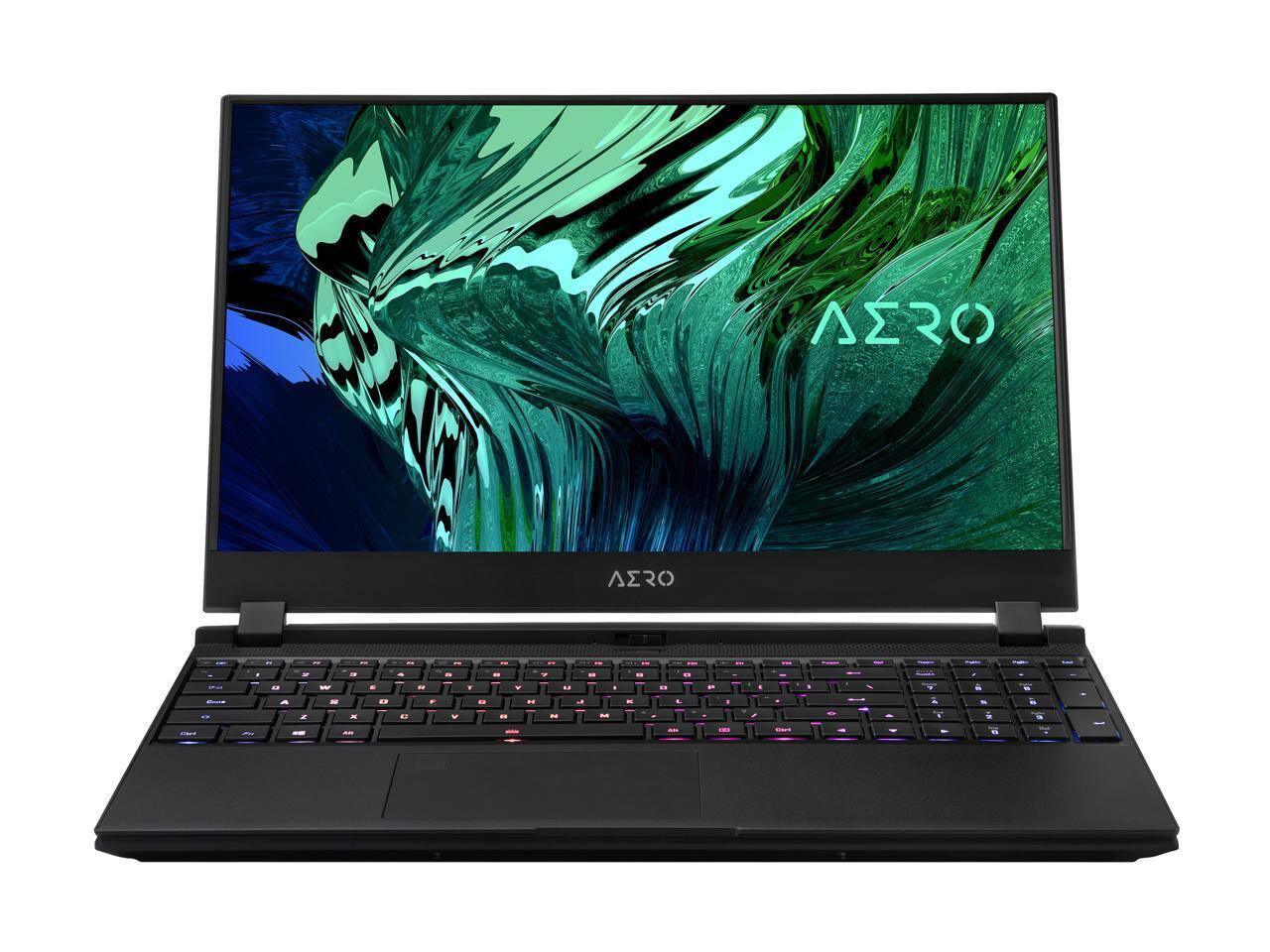 GIGABYTE AERO 15 XC-8US1130SH Gaming Laptop [Intel Core i7-10870H 2.20 GHz, RTX 3070] $1549