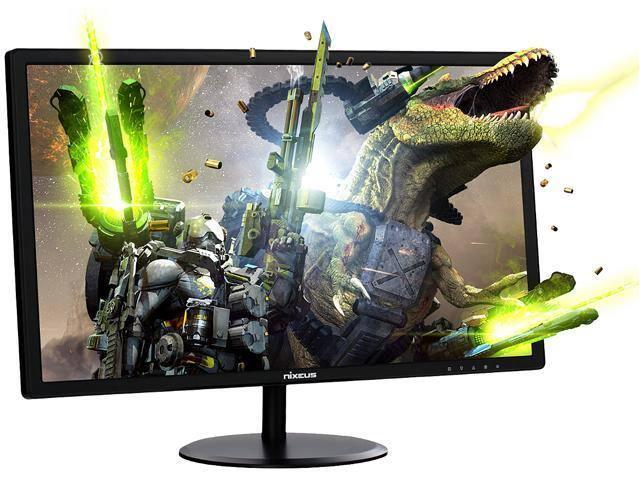 "Nixeus EDG Gaming Monitor [24"", Full HD, AMD Radeon FreeSync Certified, 144Hz, 1MS, TN Panel] for $139.99 w/ Free Shipping"