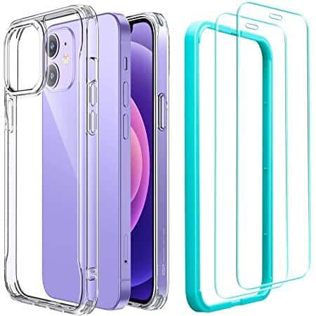 ESR iPhone 12/ Pro / Max / Mini / 11 / XR Various Cases (some w/ MagSafe), and Case + Screen Protector Bundles from $2.99 + FS with Prime $3.83