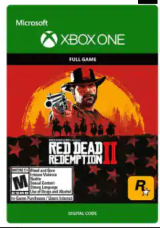 Xbox Digital Games: Red Dead Redemption 2 $26.99, Assassin's Creed Origins $11.99, Tom Clancy's Rainbow Six Siege Deluxe Edition $9.99 & More