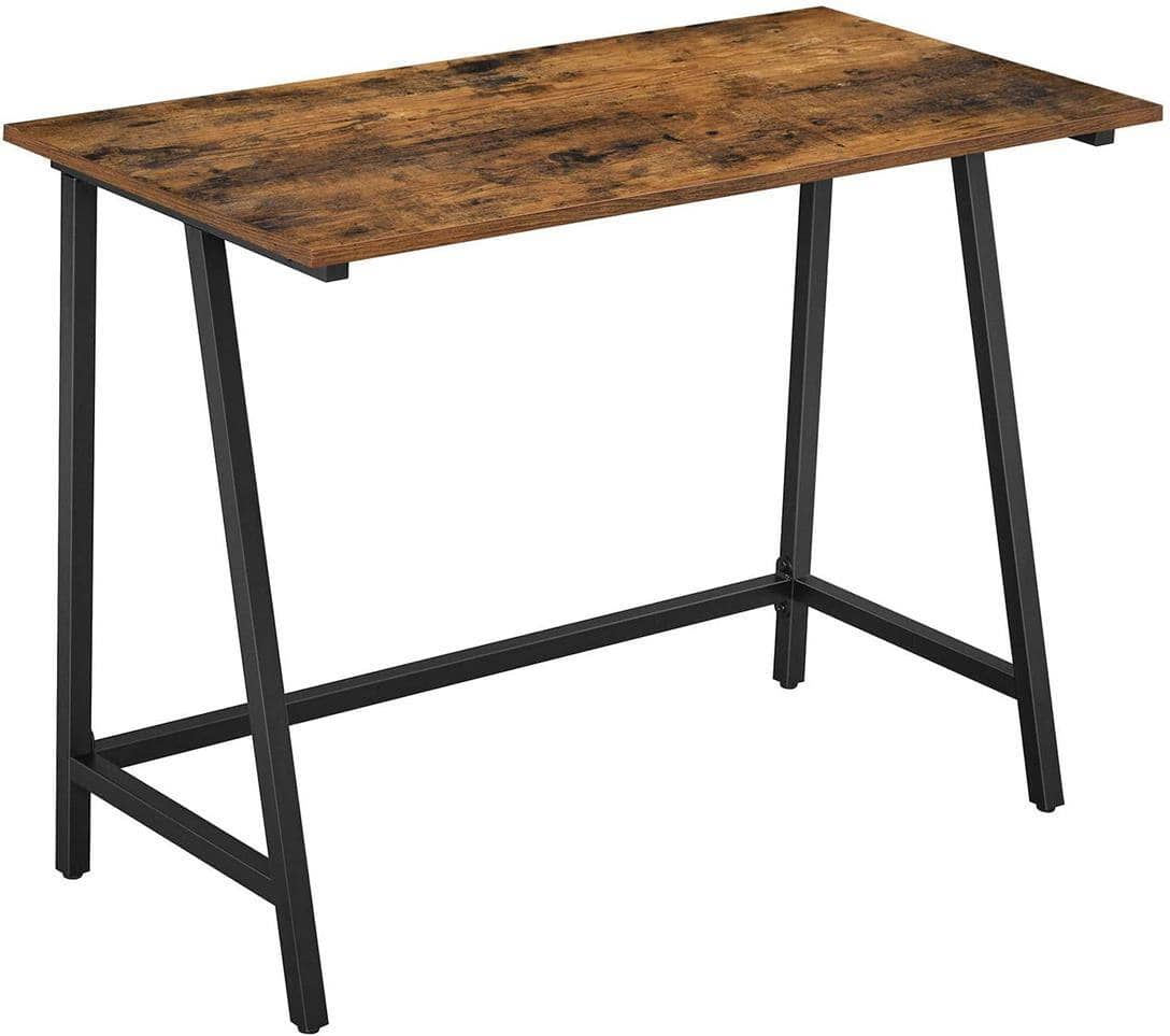 VASAGLE 8 Hooks Writing Desk $32.99 + Free Shipping