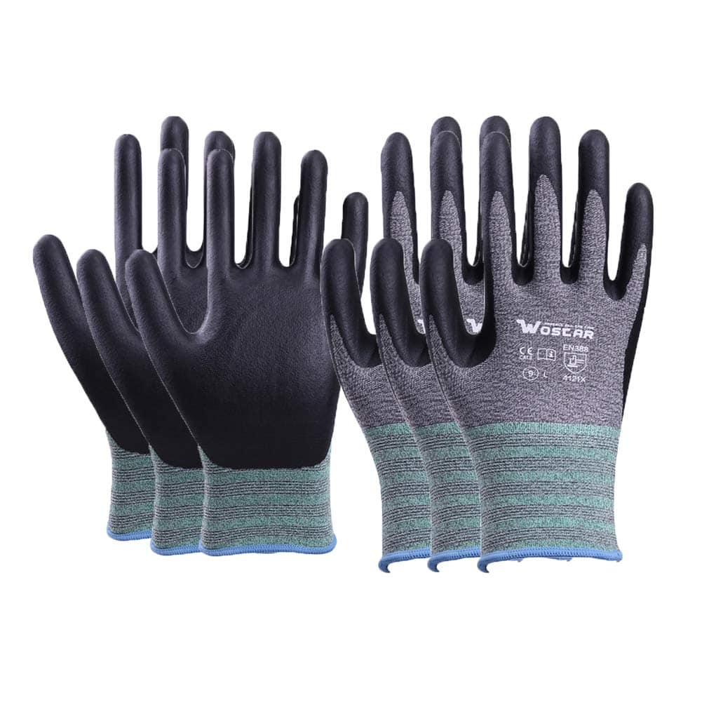 3-Pack Wostar Non-slip Touch Screen Working Gloves (3 sizes) $4.76 + Free shipping w/ Prime or $25+