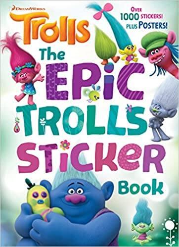DreamWorks Trolls Children's Books for over 40% off $2.59+
