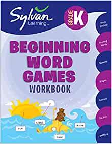 Kindergarten Beginning Word Games Workbook $5.99 (45% off)
