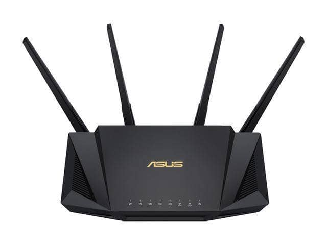 (Start 9/15)ASUS RT-AX3000 Dual Band WiFi Router, WiFi 6, 802.11ax, Lifetime Internet Security, support AiMesh Whole-home WiFi, 4 x 1Gb LAN ports w/ Free Shipping $149.99
