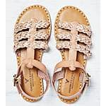 AEO Strappy Braided Sandal for $10 +Free ship @American Eagle