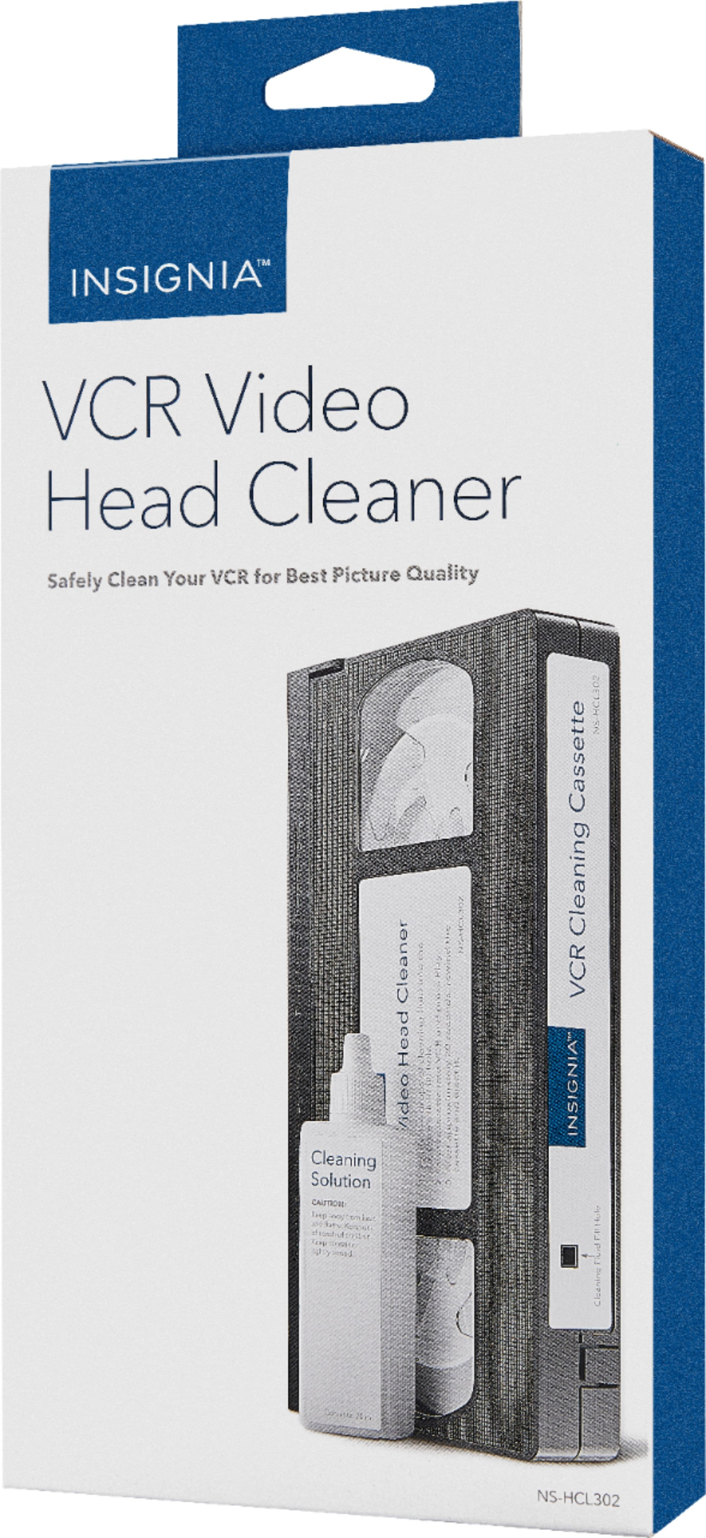 Best Buy: Insignia™ - VCR Video Head Cleaner - $6.99