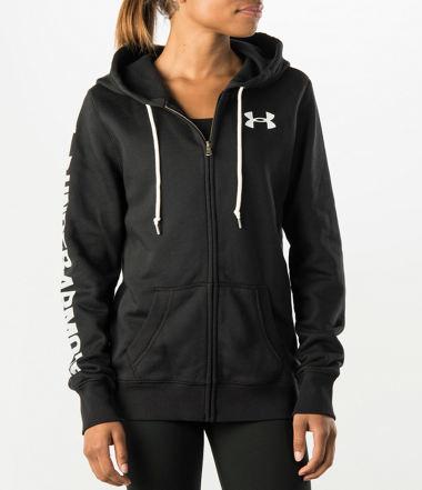 Under Armour Women's Favorite Fleece full-zip Hoodie $20 Finishline