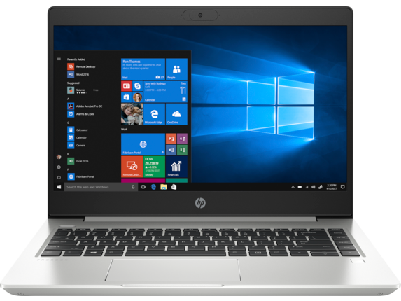 "HP Probook 445 G7 Laptop - Customizable Ryzen 4300U-4700U, 14"" 250-1000 nits/99% 1080P, 4-32GB RAM, 500GB-1TB HD/SSD $400-950 AC"