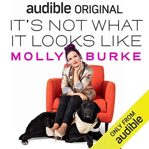 "EXPIRED Audible ""It's Not What It Looks Like"" by Molly Burke and 2 more free pre-orders for members (subscription required)"