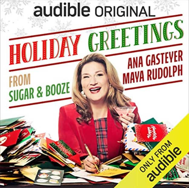 Audible paid members: Free audiobooks: Holiday Greetings from Sugar and Booze, The Half-Life of Marie Curie