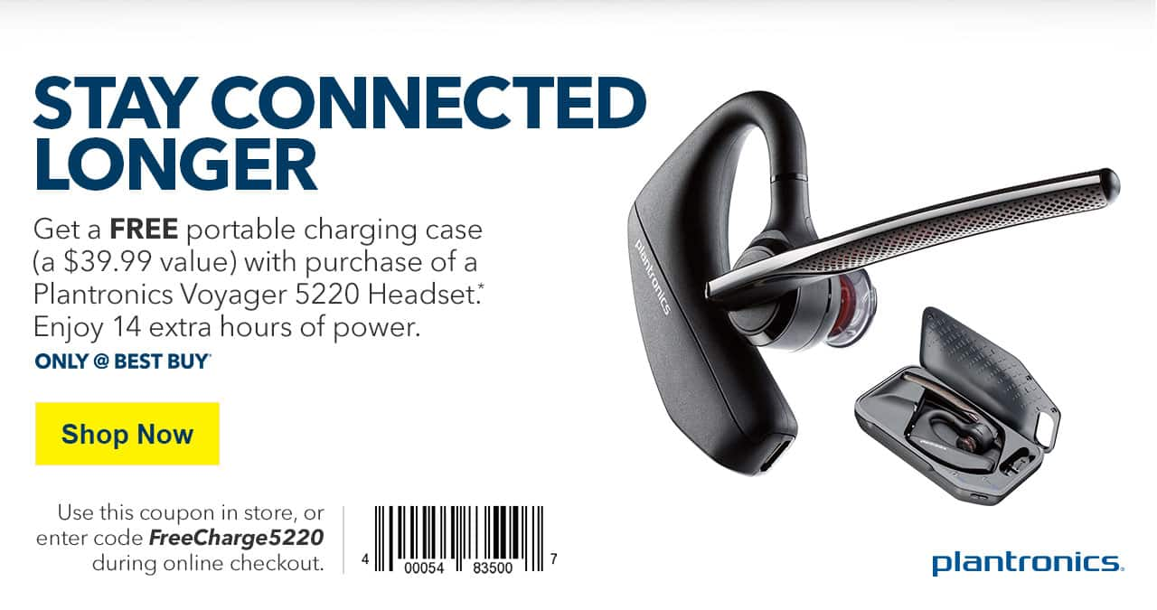 plantronics voyager 5220 bluetooth headset with free charging case rh slickdeals net
