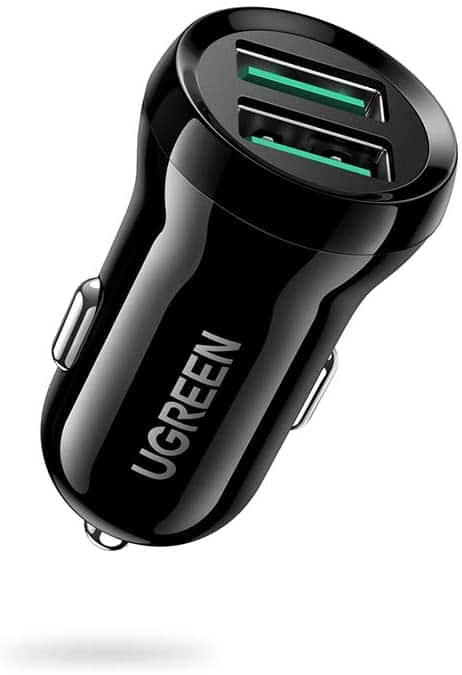 UGREEN mini Car Charger 24W Dual USBQC3.0 Port $6.99,UGREEN USB C Car Charger 42.5W 2 Port All Metal $12.79,More + Free Shipping w/ Prime or $25+