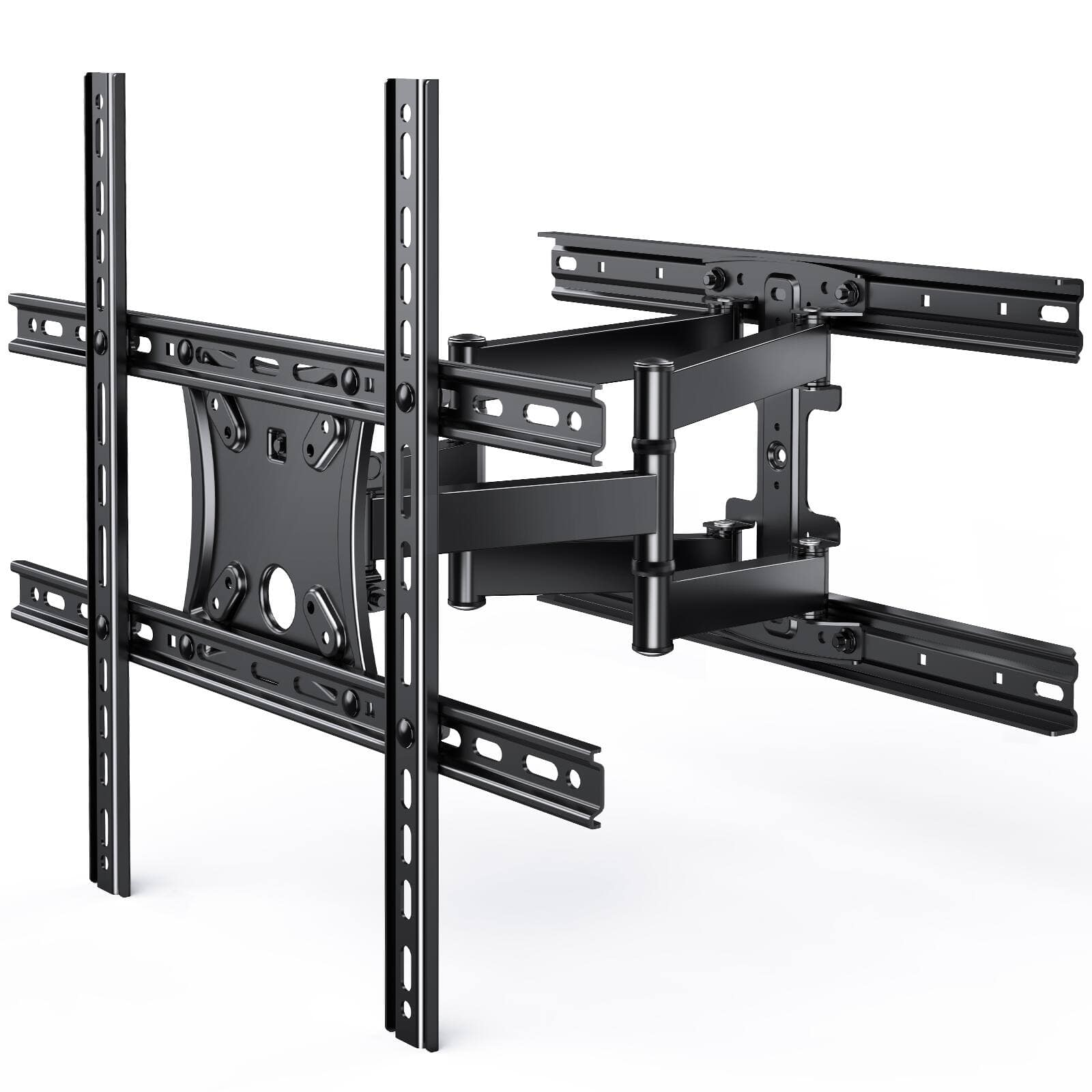 PERLESMITH Full Motion TV Wall Mount for 17-55 inch Flat/Curved TVs with Swivel Extension Tilting TV Bracket only $19.99 + Free Shipping on 35+