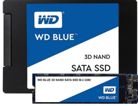 WD Blue 3D NAND 2TB Internal SSD - SATA III 6Gb/s M.2 2280 Solid State Drive for $169.99 w/ FS after Code