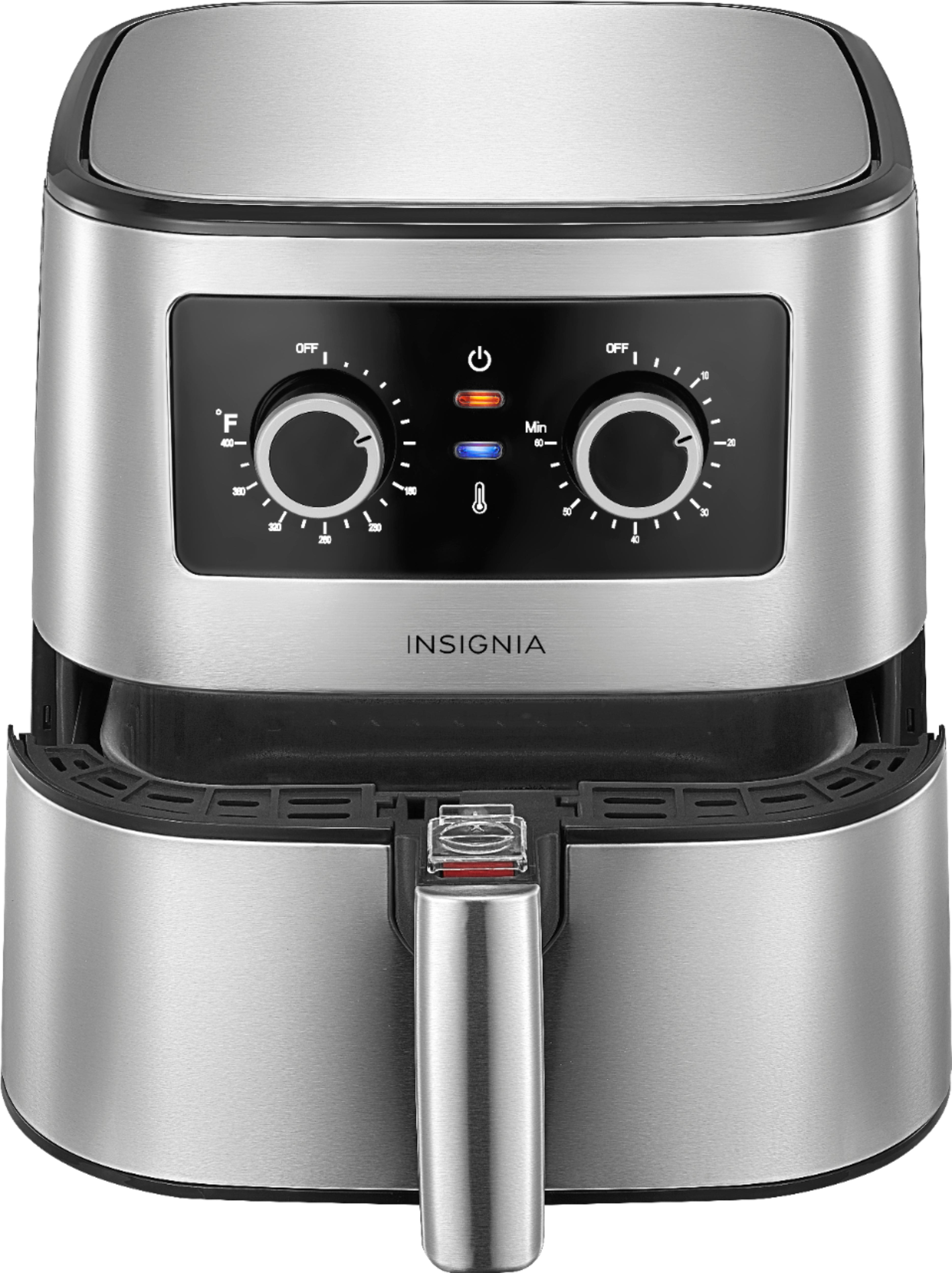 Insignia™ 5-qt. Analog Air Fryer Stainless Steel NS-AF53MSS0 - $39.99 with free shipping @ Best Buy - $39.99