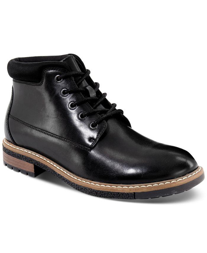 Alfani Men's Gordon Chukka Boots, Black - $24 @ Macy's