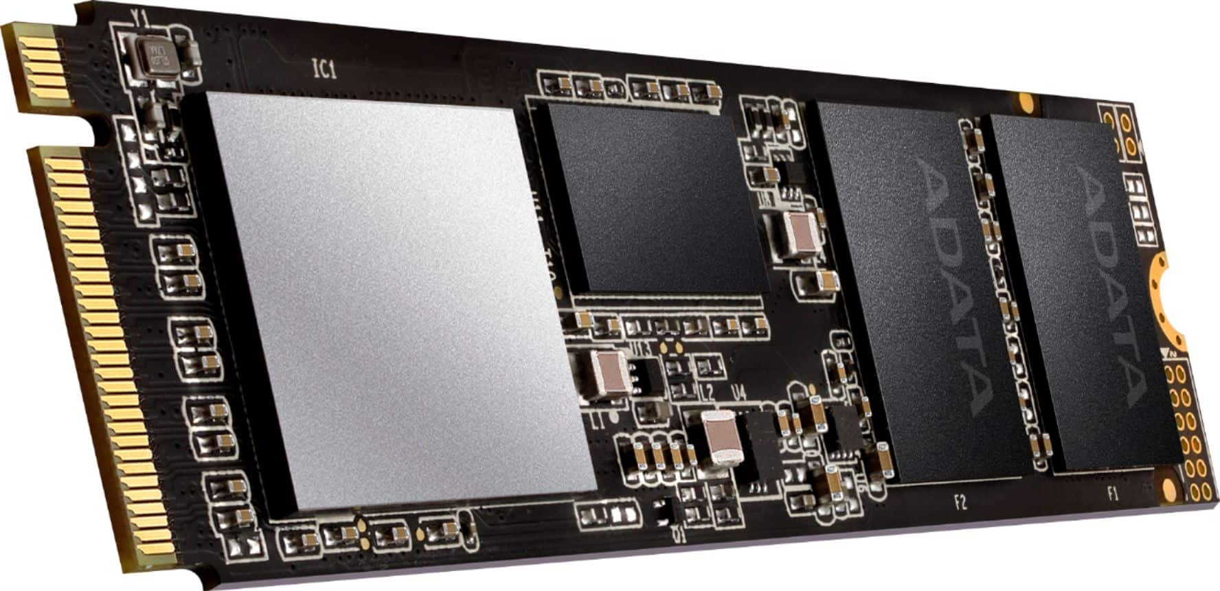 ADATA XPG SX8200 Pro Series 1TB PCIe Gen 3 x4 M.2 2280 Internal Solid State Drive with Flash 3D Nand Technology ASX8200PNP-1TT-C - $99.99