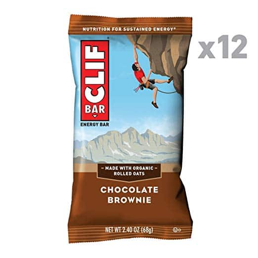 CLIF BAR Chocolate Brownie - (2.4 Ounce Protein Bar, 12 Count) - $5.06 with 15% S&S $5.95