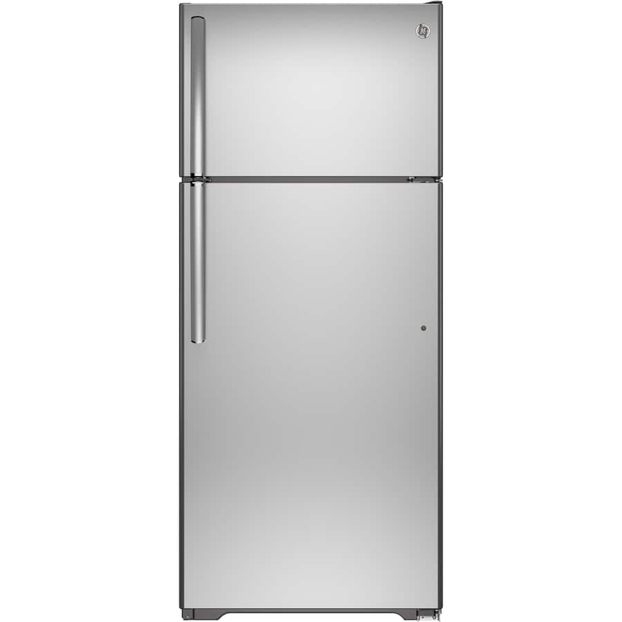 GE Autofill Pitcher 17.5-cu ft Stainless Steel Top-Freezer Refrigerator $378 at Lowe's (Was: $899) Through 2/21 $377.58