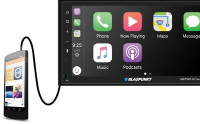 """Blaupunkt 6.8"""" Touch Screen CarPlay & Android Auto Headunit $149 AC at Fry's Electronics (also $149 @Walmart)"""
