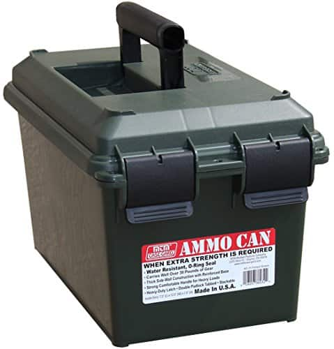 MTM Large Plastic Ammo Can Amazon.com $9.79 Forest Green or  $9.99 Orange Prime Members Only Pricing
