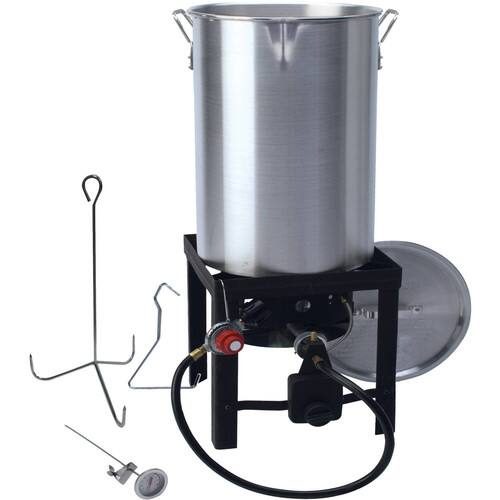 30 qt Turkey Fryer with Spout Walmart $37.88 with Free Shipping
