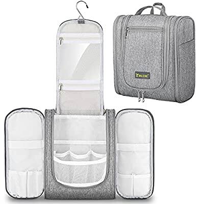 TICONN- Large Hanging Toiletry Bag (4 colors) $11.89 + Free Shipping w/ Amazon Prime or Orders $25+