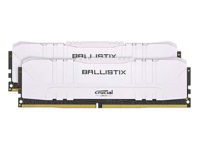 Crucial Ballistix 32GB (16x2) 3600 MHz DDR4 DRAM Desktop Gaming Memory Kit CL16 $154.99