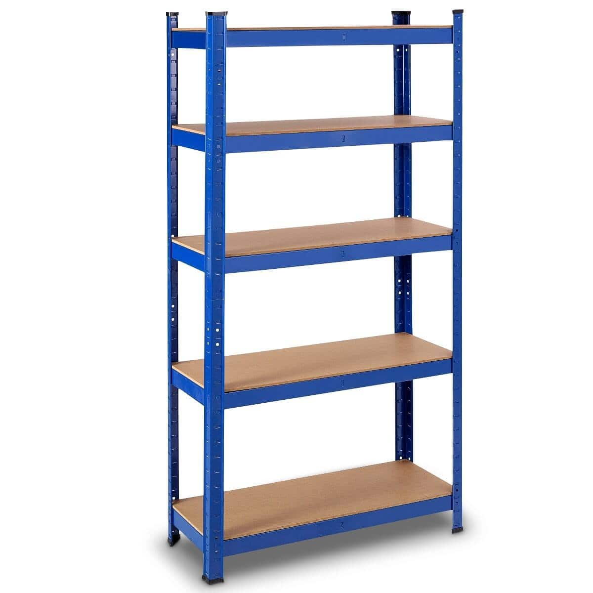 Costway Adjust 30 x60 Inch 5 Level Garage Tool Shelf Storage $51.95 + Free Shipping