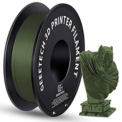 2.2lbs Geeetech 3D Printer Filament 1.75mm (included new arrived Matte PLA) from $15.98 + FSSS