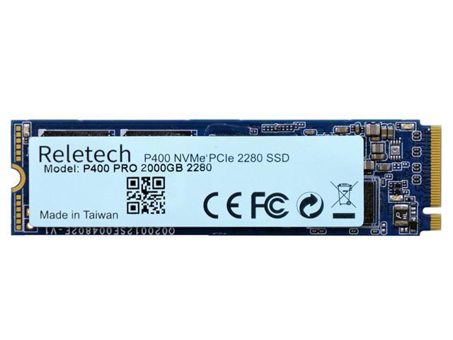 Reletech P400 Pro Q 2TB NVMe PCIe 4.0 M.2 2280 Internal SSD (RT-P400Q-2TB) $229 at Newegg
