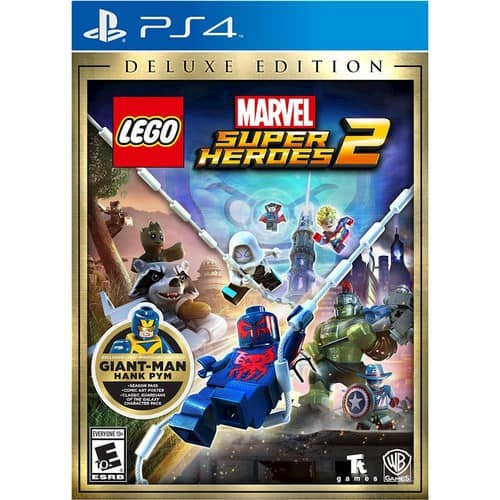 LEGO® Marvel Super Heroes 2 Deluxe Edition w/ Hank Pym Minifig - PlayStation 4 Xbox One Switch $43.99 GCU