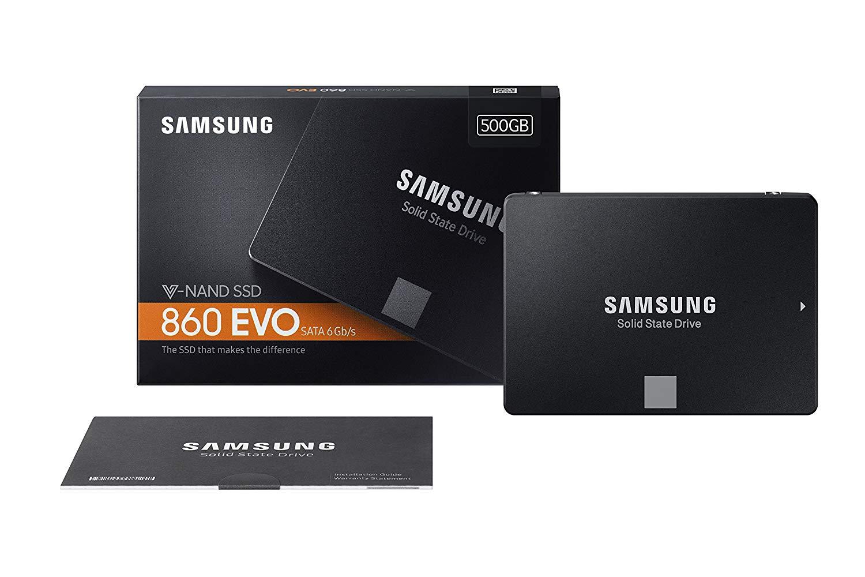 Samsung 860 Evo 500GB SSD $88