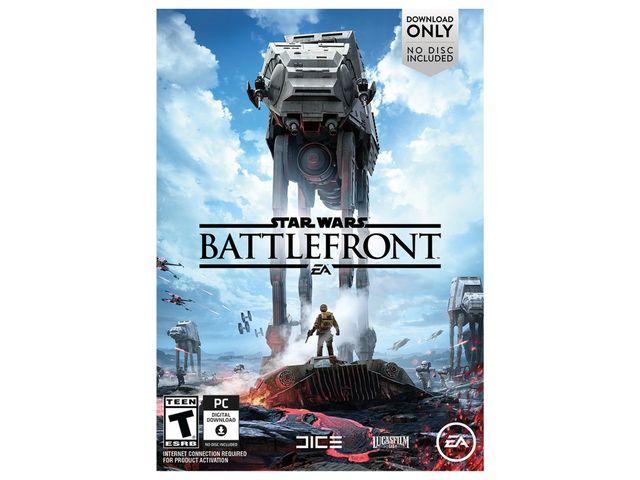 Star Wars Battlefront PC (not digital) $44.99 AC