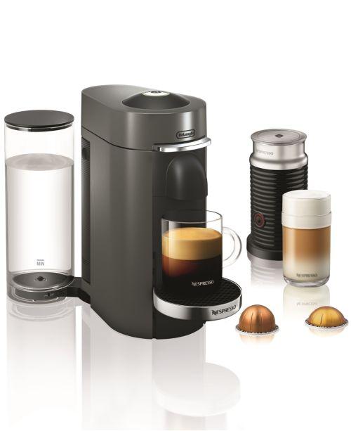 De'Longhi Vertuo Plus Deluxe Coffee & Espresso Maker with Aerocinno Frother $112.49