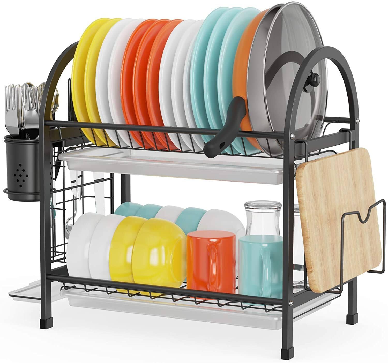 Cambond 2 Tier Dish Drying Rack $15.99