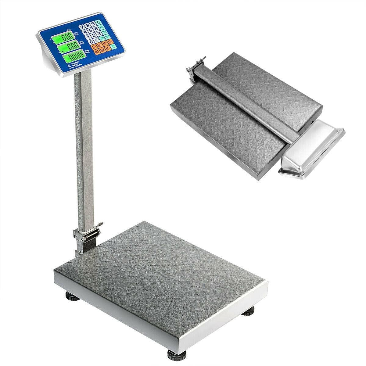 Costway 660 lbs Weight Platform Scale Digital Floor Folding Scale $84.95 + Free Shipping