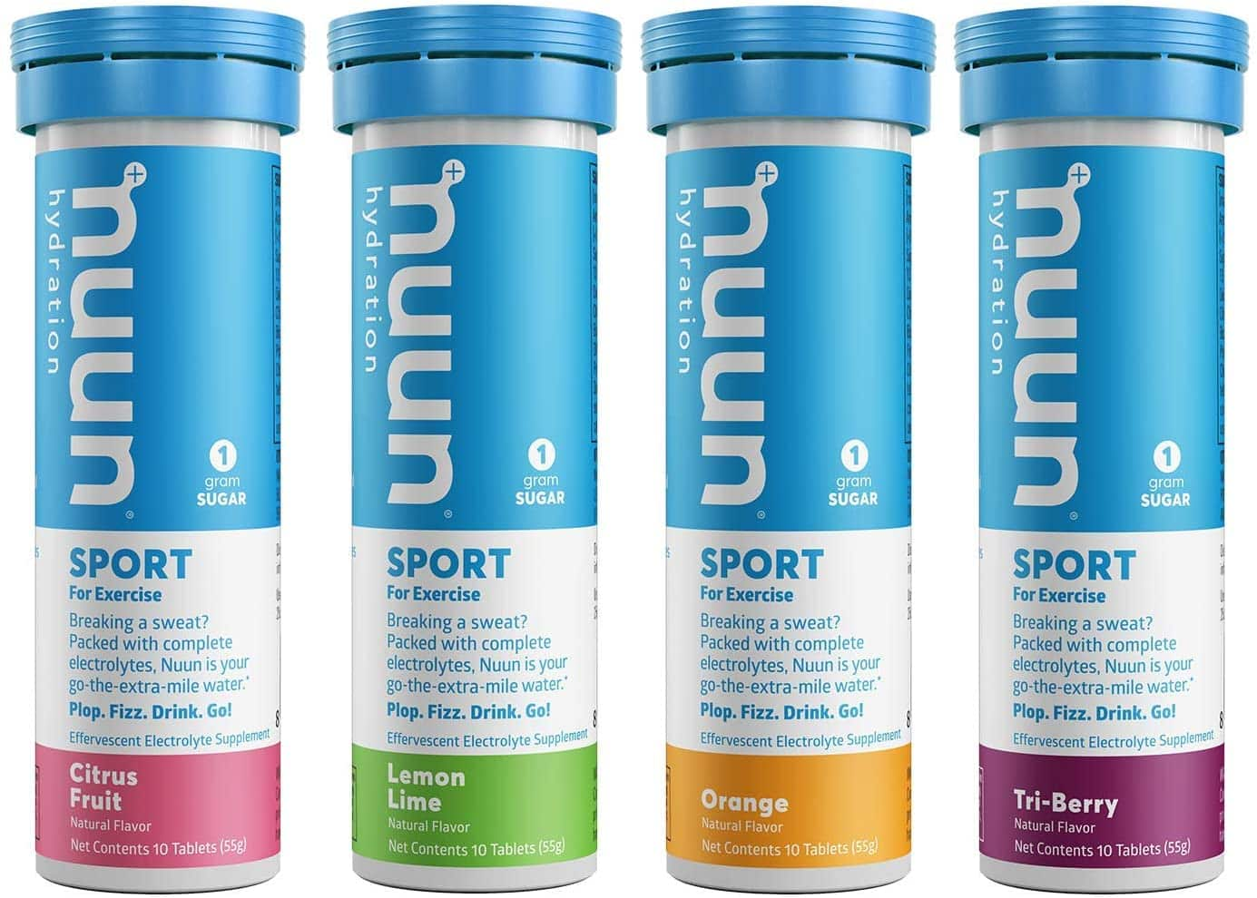 4-Tubes Nuun Hydration Electrolyte Drink Tablets (40 Servings, Citrus/Berry) $11.45 w/ Subscribe & Save