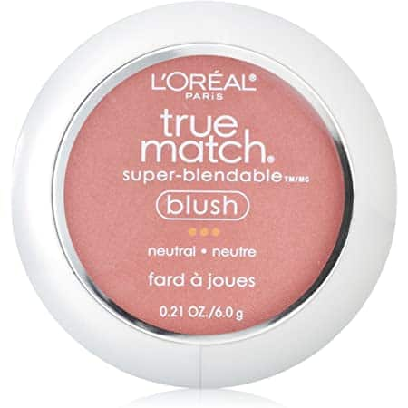 L'Oreal true match blush, tender rose---$5.94