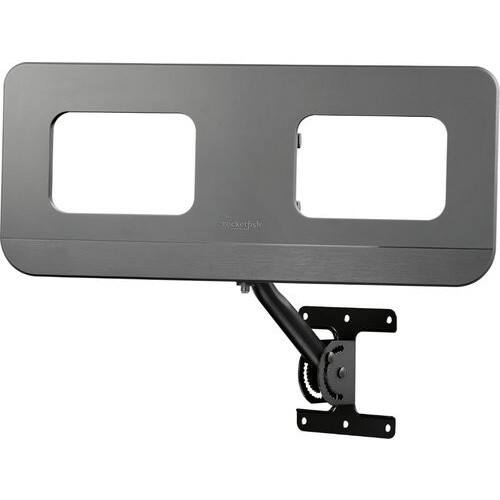 Outdoor Amplified TV Antenna Rocketfish™ Best Buy $39.99 Up to 60-mile reception range