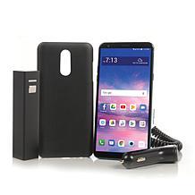 "Samsung Galaxy A10e 5.83"" HD 32GB Tracfone w/1500 Minutes/Texts/Data  $99 HSN Free Ship"