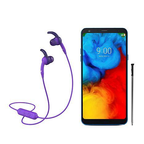 """Sprint LG Stylo 4+ 6.2"""" HD Smartphone 3GB RAM, 32GB  with iFrogz earbuds HSN $69.99 Free Shipping $59.99 WITH HSN New customer coupon"""