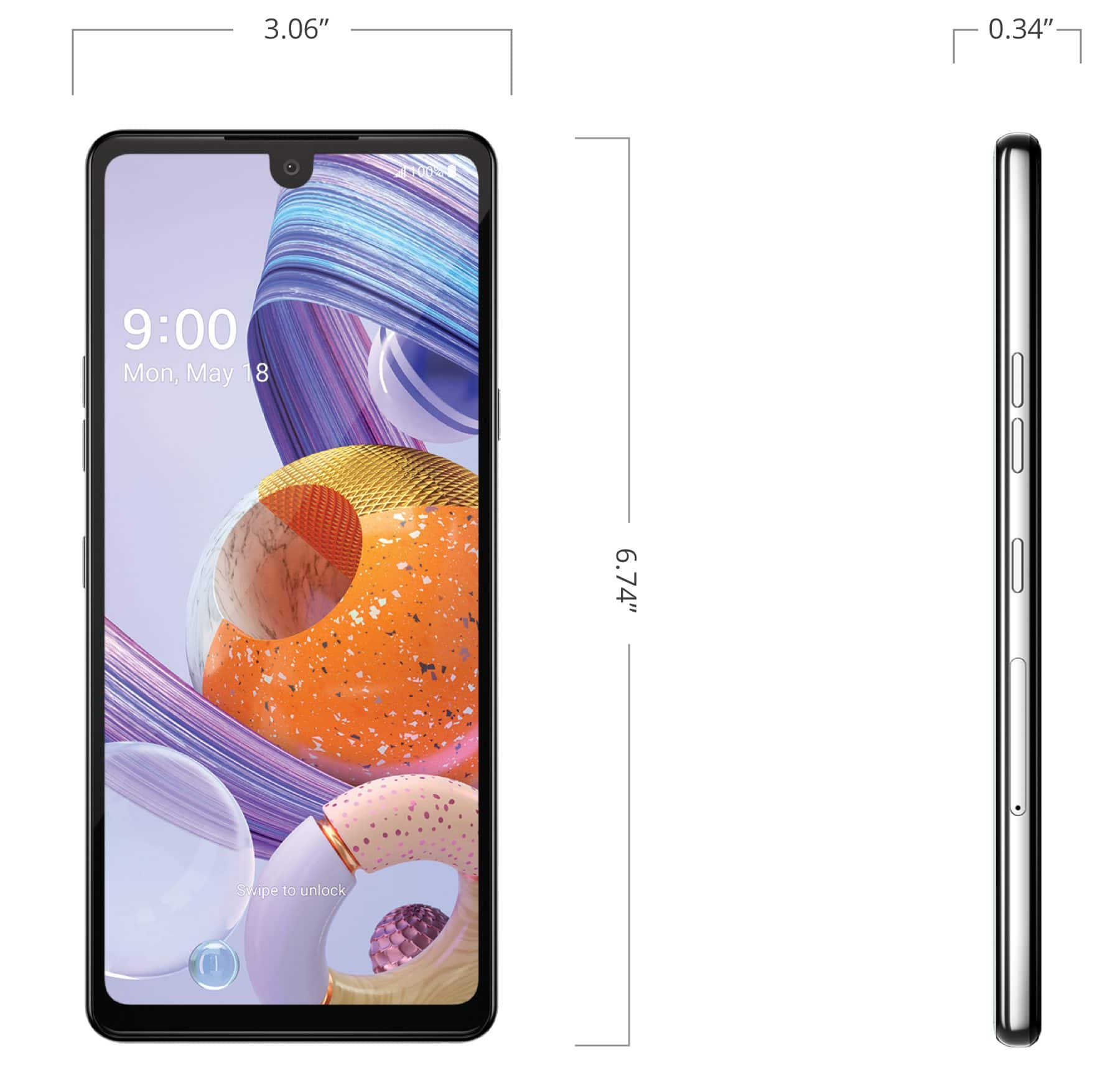 """BOOST  new code 20 per cent off Android phones LG Stylo 6 64GB Storage 3GB RAM 6.8"""" screen Android 10 Stylus Pen Boost Mobile $143.99 AFTER coupon Free Ship"""
