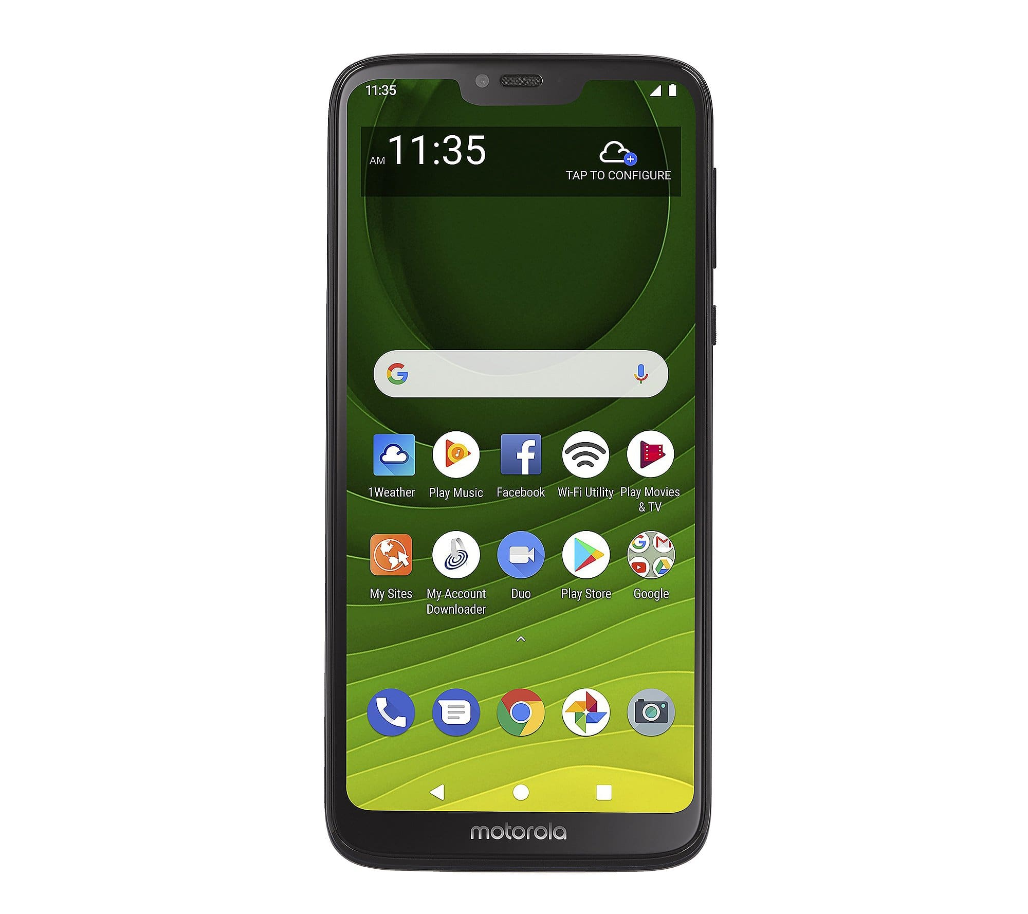 "Tracfone 6.2"" Motorola MotoG7 Optimo MAXX Smartphone w/ Talk/Text/Data QVC  $104.96 S&H: $8.97"