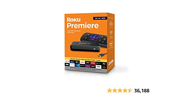 Roku Premiere | HD/4K/HDR @ Amazon $24.00